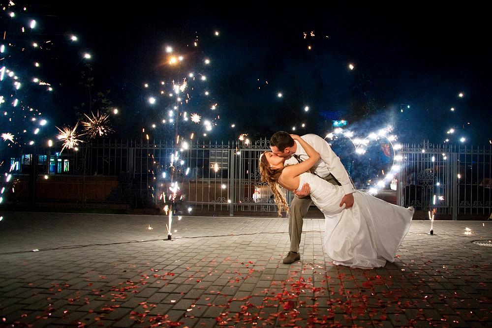 Фрагмент развлекательной программы на свадьбе